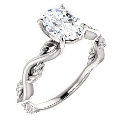 Infinity or Twist Engagement Rings